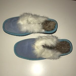 Other - Blue sheepskin slippers for Kids